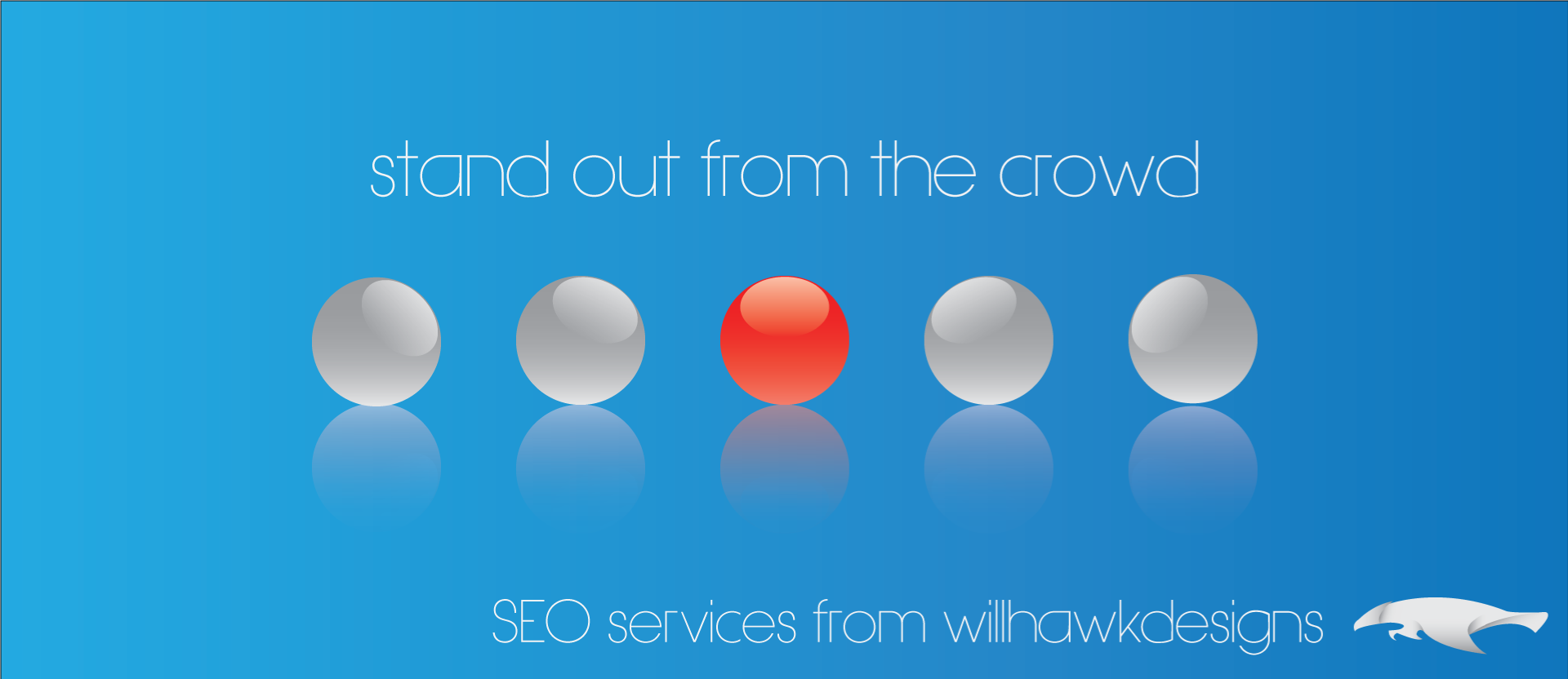 Banner 3 - Stand Out From The Crowd With SEO Services.